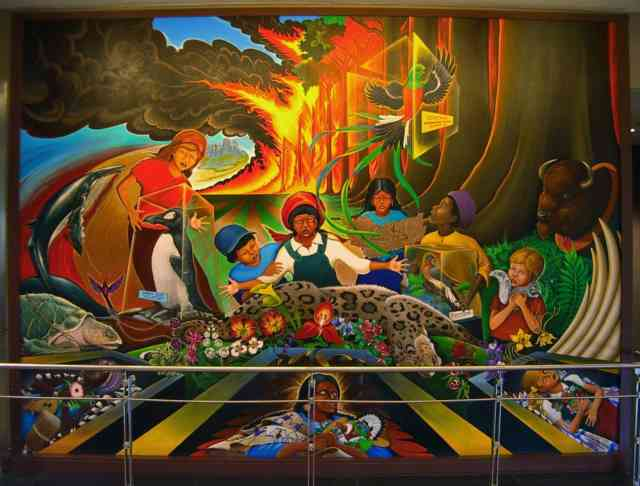 Denver airport murals | Denver colorado | Denver airport | Denver colorado | Denver | #62