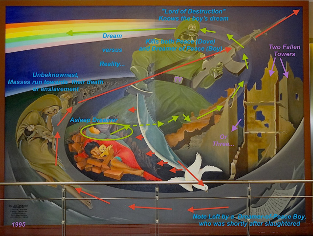 Denver airport murals | Denver colorado | Denver airport | Denver colorado | Denver | #65