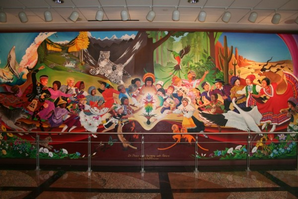 Denver airport murals | Denver colorado | Denver airport | Denver colorado | Denver | #77