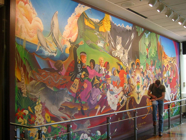 Denver airport murals | Denver colorado | Denver airport | Denver colorado | Denver | #80