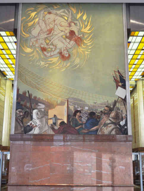 Denver airport murals | Denver colorado | Denver airport | Denver colorado | Denver | #86