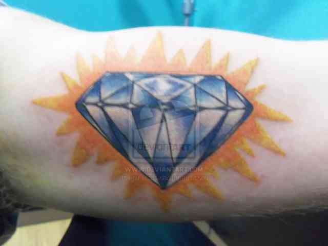 Diamond tattoo | Diamond tattoos | tattoo designs | tattoos | #18