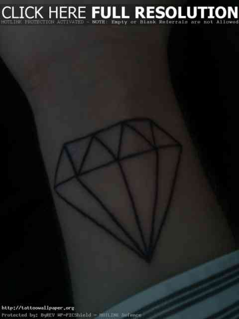 Diamond tattoo | Diamond tattoos | tattoo designs | tattoos | #2
