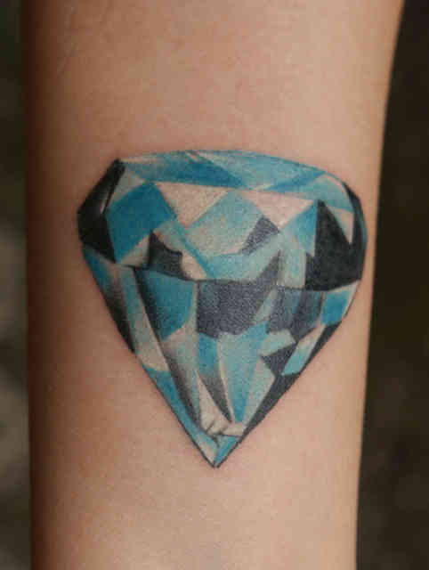 Diamond tattoo | Diamond tattoos | tattoo designs | tattoos | #21