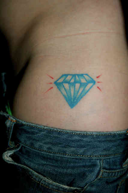 Diamond tattoo | Diamond tattoos | tattoo designs | tattoos | #22