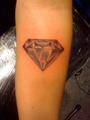Diamond tattoo | Diamond tattoos | tattoo designs | tattoos | #28