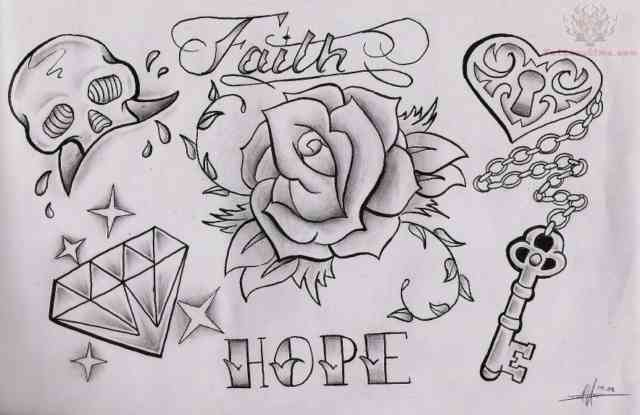 Diamond tattoo | Diamond tattoos | tattoo designs | tattoos | #8