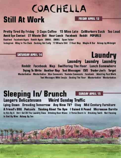Coachella Line Up 2014 | wallpaper | #8