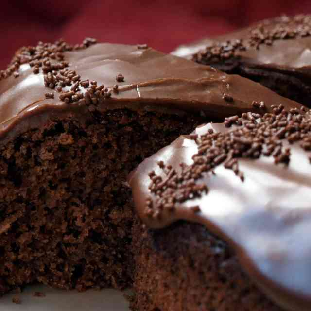 Hot Chocolate Cake HD Wallpapers