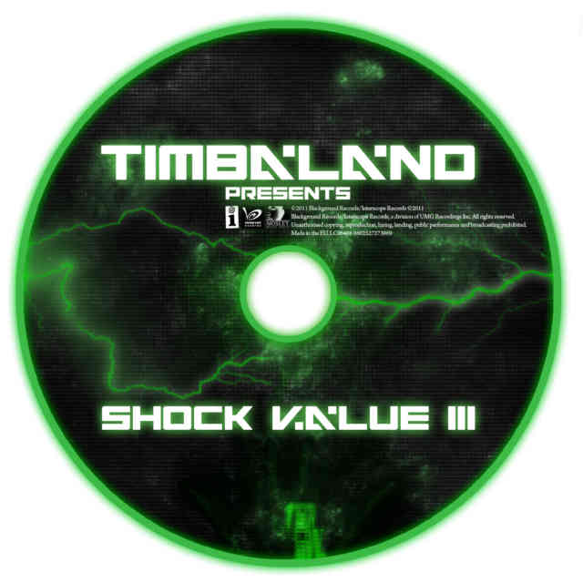 Timbaland shock value 3 CD Cover