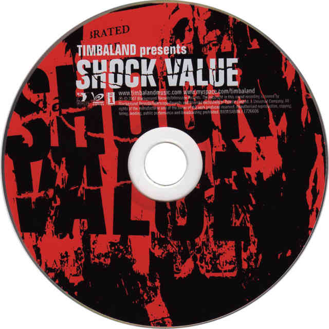Timbaland shock value Presents CD Disk Official Album