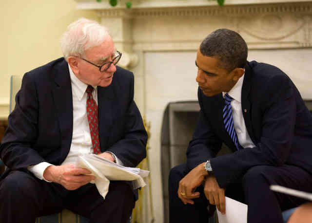Warren Buffet investing with Obama