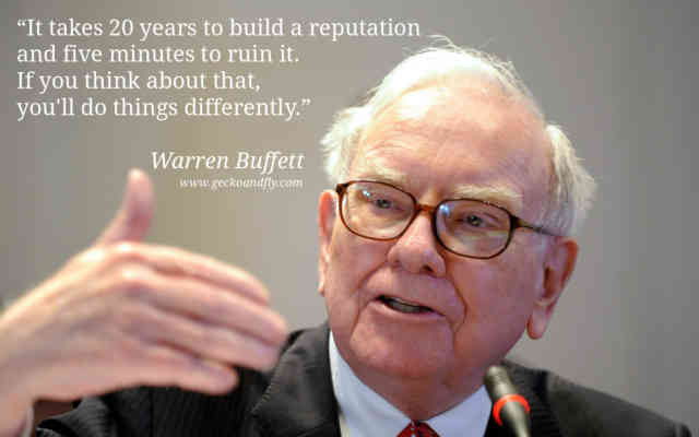 What does Warren Buffet invest in
