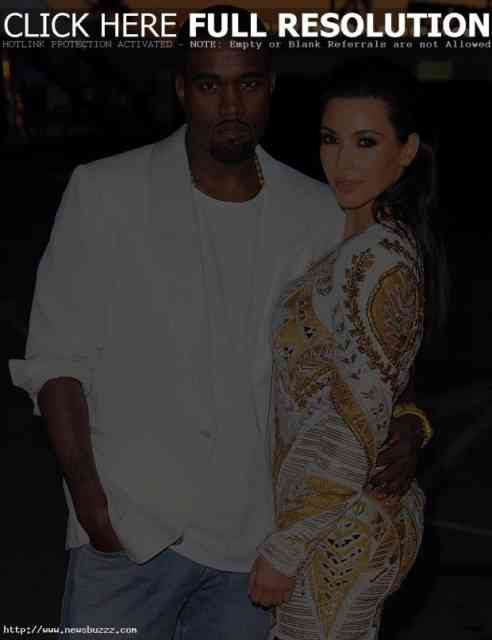 Kanye West and Kim Kardashian Wedding pictures | #1