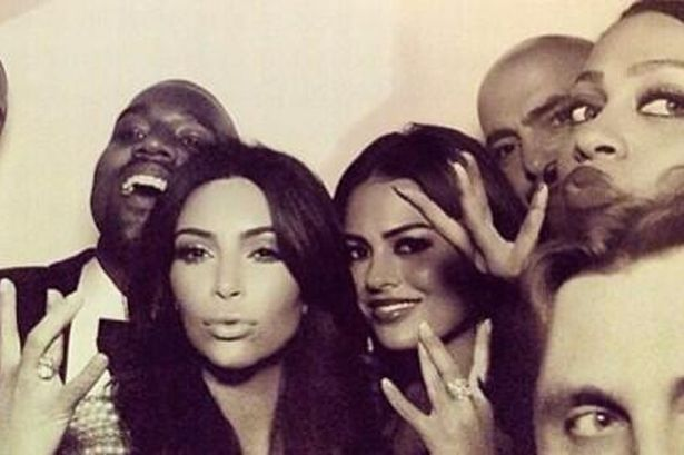 Kanye West and Kim Kardashian Wedding pictures | #3