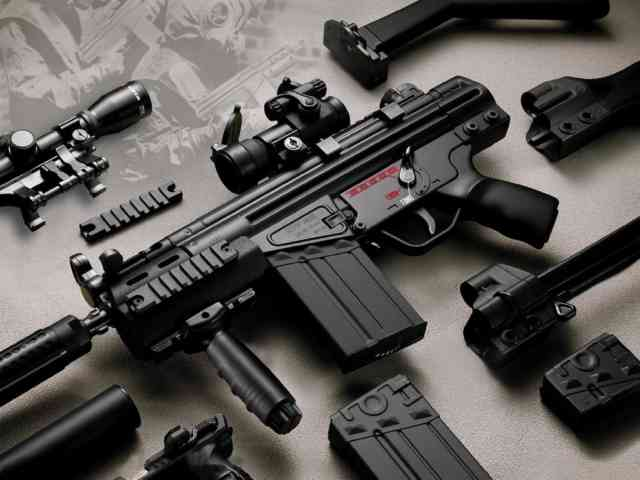 MP7 Gun HD Wallpapers | Revolver Wallpapers HD | Pistol