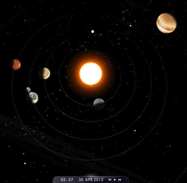 Solar system alignment | Make a solar system  | #8