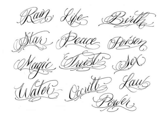 Tattoo Font Generator | wallpapers | #2