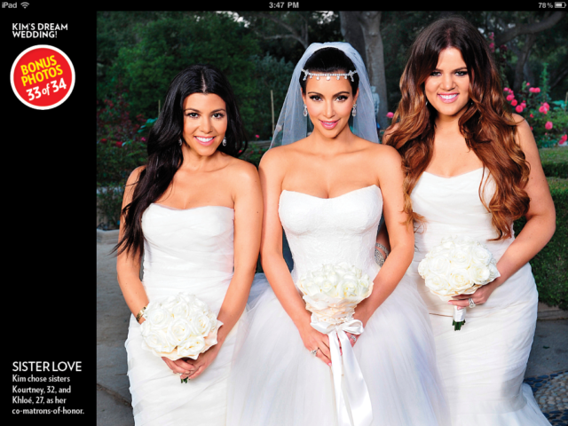 Kim Kardashian Wedding | Wedding Wallpaper | #8