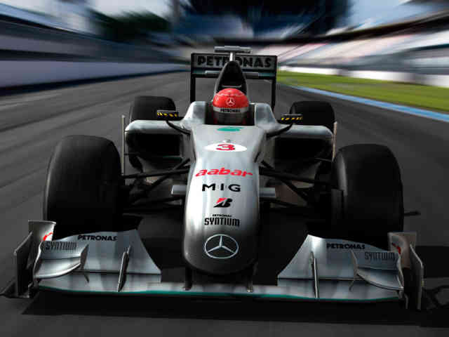 Michael Schumacher Mercedes | F1 wallpapers | #2