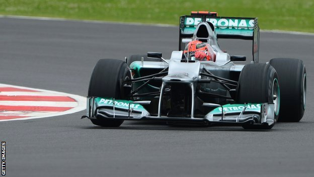 Michael Schumacher Mercedes | F1 wallpapers | #5