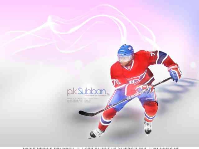P.K. Subban Wallpaper | Montreal Hockey Canadiens | #1