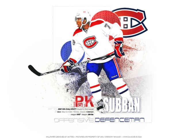 P.K. Subban Wallpaper | Montreal Hockey Canadiens | #12