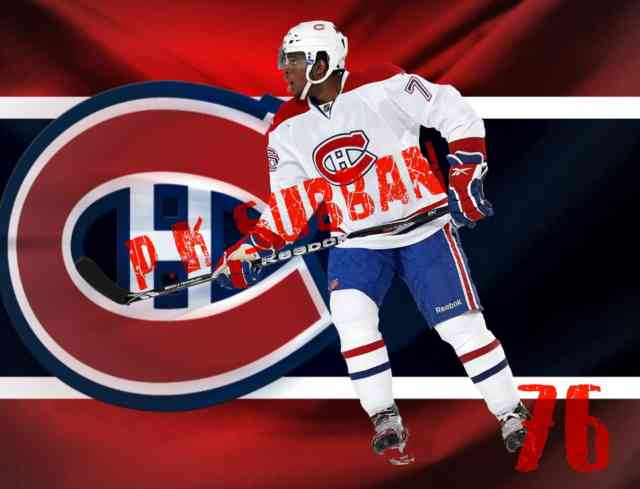P.K. Subban Wallpaper | Montreal Hockey Canadiens | #28
