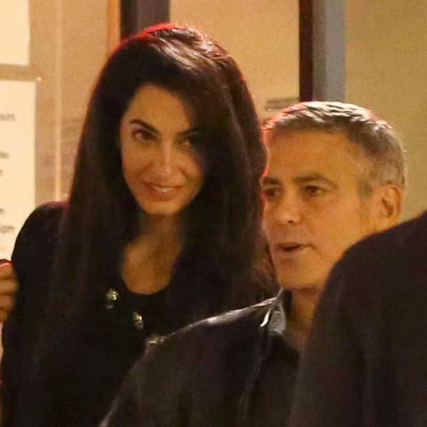 George Clooney Wedding | George Clooney Wedding with Amal Alamuddin images | #15