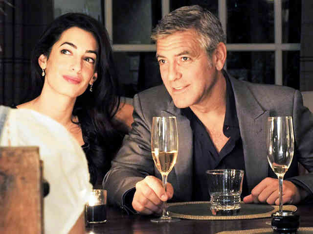 George Clooney Wedding | George Clooney Wedding with Amal Alamuddin images | #18