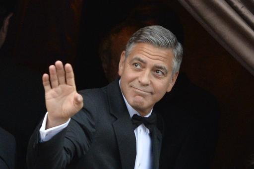 George Clooney Wedding | George Clooney Wedding with Amal Alamuddin images | #20