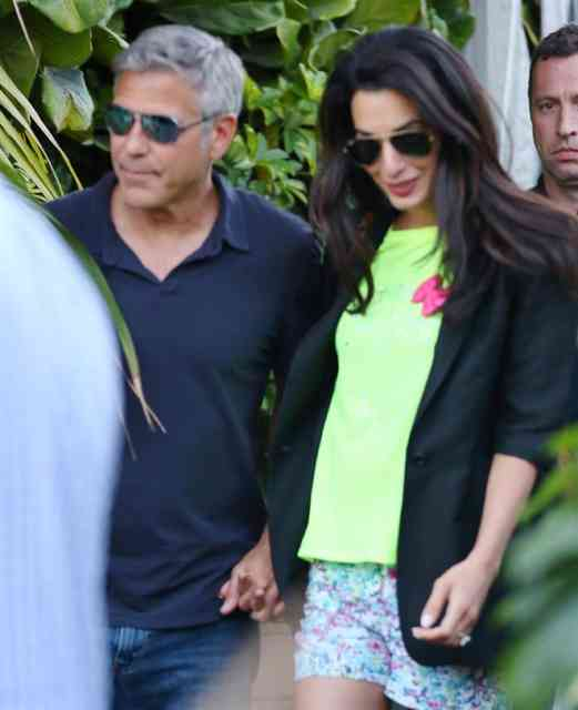 George Clooney Wedding | George Clooney Wedding with Amal Alamuddin images | #21