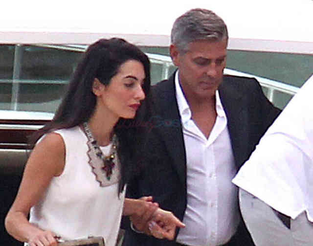 George Clooney Wedding | George Clooney Wedding with Amal Alamuddin images | #30
