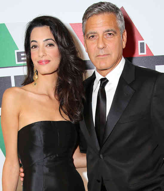 George Clooney Wedding | George Clooney Wedding with Amal Alamuddin images | #33