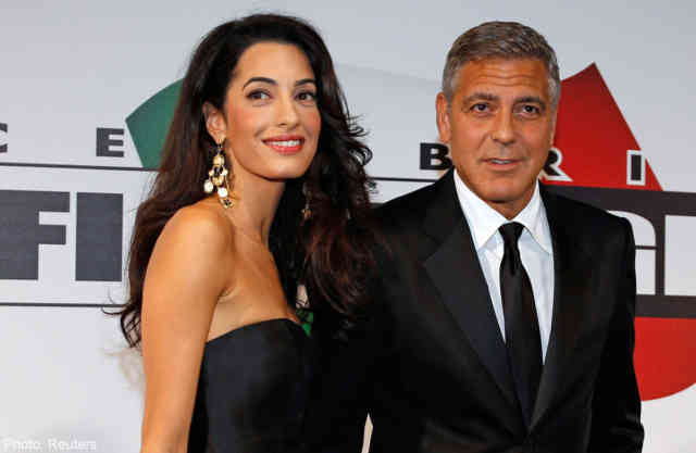 George Clooney Wedding | George Clooney Wedding with Amal Alamuddin images | #35