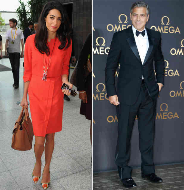 George Clooney Wedding | George Clooney Wedding with Amal Alamuddin images | #