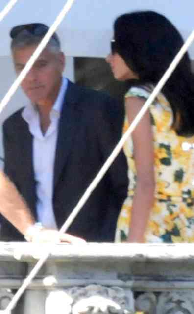 George Clooney Wedding | George Clooney Wedding with Amal Alamuddin images | #7