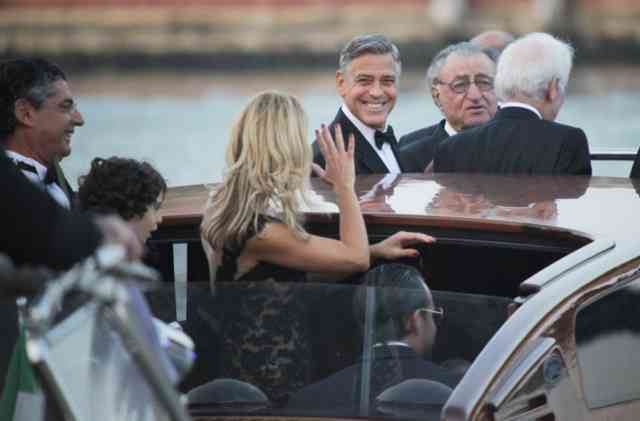 George Clooney Wedding | George Clooney wallpapers | #1