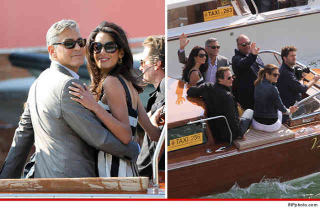 George Clooney Wedding | George Clooney wallpapers | #11