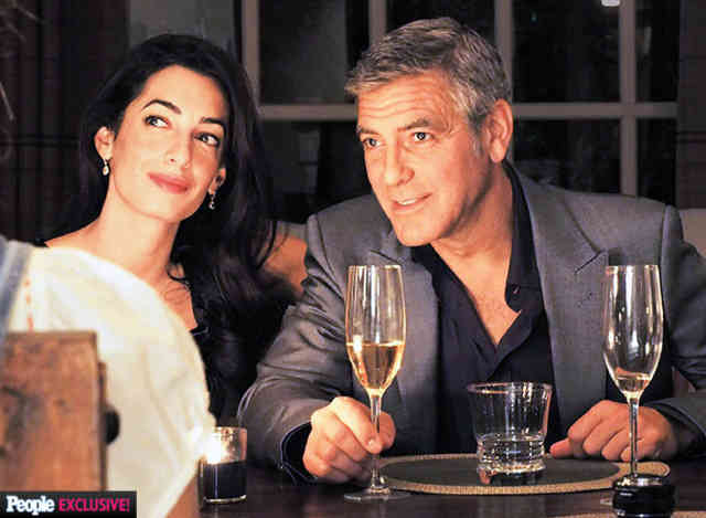 George Clooney Wedding | George Clooney wallpapers | #13