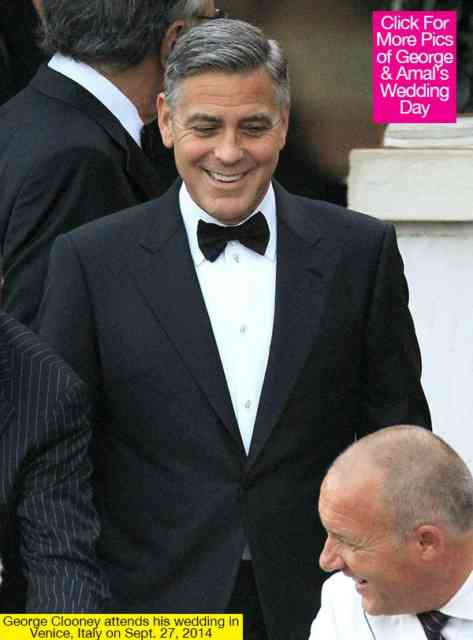 George Clooney Wedding | George Clooney wallpapers | #14