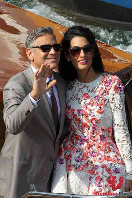 George Clooney Wedding | George Clooney wallpapers | #15