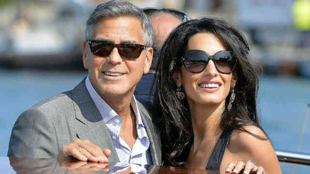 George Clooney Wedding | George Clooney wallpapers | #16