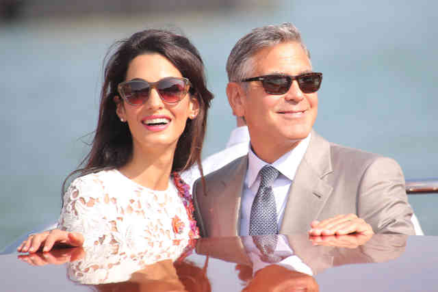 George Clooney Wedding | George Clooney wallpapers | #17