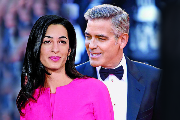 George Clooney Wedding | George Clooney wallpapers | #24