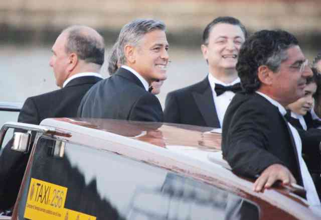 George Clooney Wedding | George Clooney wallpapers | #9
