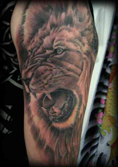 Lion Tattoo Designs | Tattoo Shop | #16