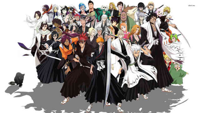 Bleach Wallpaper | Bleach Cartoon Images | Free Bleach Wallpapers | #25