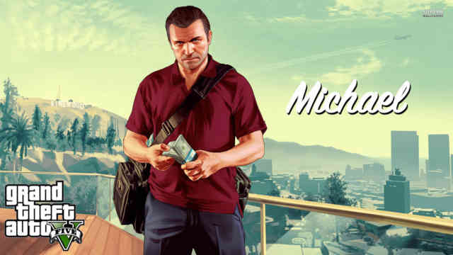 Grand Theft Auto V Wallpapers Michael