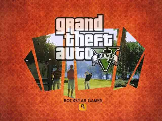 LOGO Background Grand Theft Auto V Wallpapers HD | GTA V Cool Wallpapers |